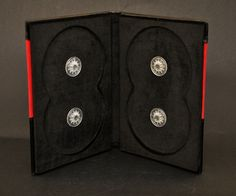 DVD case made of Genuine leather and red velvet. I take custom orders for leather photo albums and journals and ship world wide!!!  http:www.mandragos.blogspot.ro