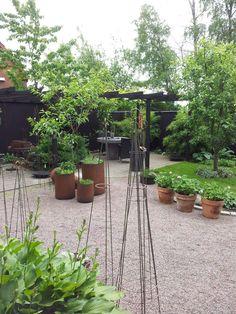 Vår trädgård i Össjö