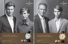 The Evil Patek Philippe Father/Son Ads