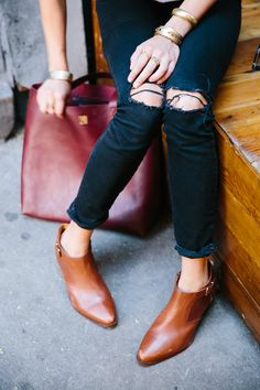 Madewell Musings - Ground Level: Three Shoe Styling Tricks