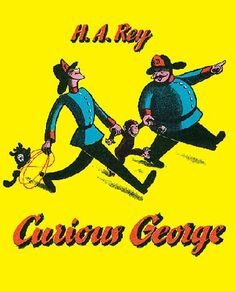 Love reading Curious George stories to my little guy! Such fun books for toddlers. Curious George by H. Curious George, Best Children Books, Childrens Books, Young Children, Young Boys, Rey George, Up Book, Children's Literature, Comparative Literature