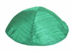 Polysilk Kippah - Forest Green Item #: YMK-2  Price: $7.00  Yair Emanuel is proud to present their exciting collection of Raw Silk Kipp...