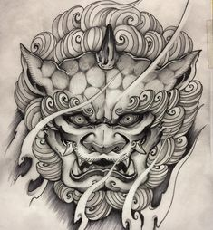 Popular Tattoos and Their Meanings Yakuza Style Tattoo, Irezumi Tattoos, Japanese Hand Tattoos, Japanese Tattoo Designs, Japanese Tattoo Samurai, Throat Tattoo, Mask Tattoo, Tiger Tattoo, Tattoo Ink