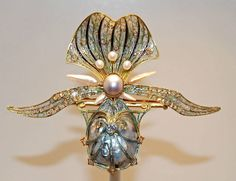 Rene Lalique - French jeweler during the early 20th century whose designs in jewelry and glass contributed significantly to the Art Nouve...