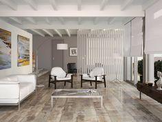 Suelos porcelánicos de imitación madera en Plazatio Porcelain Tile, Decoration, Ideas Para, Oversized Mirror, Home Goods, Divider, Wood, Furniture, Home Decor