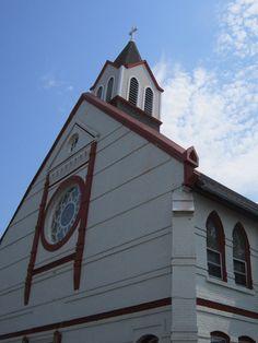 Holy Family Catholic Church In Omaha, Nebraska.
