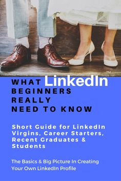 What LinkedIn Beginners Really Need to Know: Introduction & Short Guide for People New to the World of LinkedIn (CareerLove Self Help Series for Job Applications Book (English Edition) Young Professional, Marketing Jobs, Amazon Kindle, Thalia, Job Search, Big Picture, Starters, Self Help, Banners