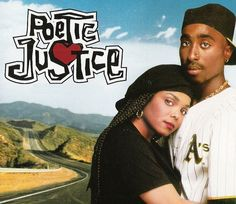 14.) This has to be one of my most favorite African American movies of all time. It teaches you about your roots, the hardship of being raised in a harsh enviorment and to respect yourself and others around you. Also it teaches you to keep your nails clean when your around other women.  poetic justice lyrics - Google Search