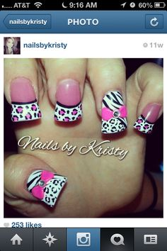 Nails if I only had $100 bux to do this kinda stuff every two weeks lol or sibling who did nails