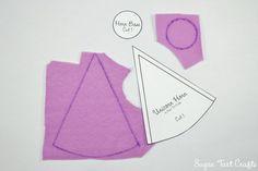 My Little Pony - Rarity, Twilight Sparkle, Princess Celestia, Plush unicorn horn tutorial with printable pattern