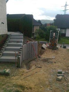 Exterior Stairs, Pergola, Yard Landscaping, Amazing Gardens, Garden Design, Patio, Landscape, Health, Creative