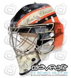 winter classic  mask - *bobrovsky
