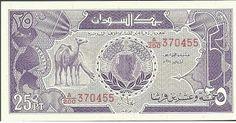 Mi colección de billetes: Sudán