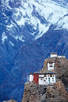 Dhankar Gompa, Spiti Valley, Himachal Pradesh, India