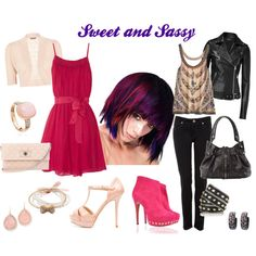 Sweet & Sassy, created by baeyensgirl on Polyvore