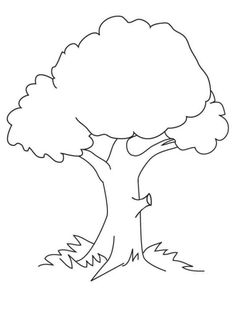 9 Best Ausmalbilder Baum Images Tree Coloring Page