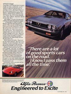 More great copy!!    Alfa Romeo GTV6