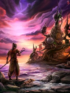Morrowind: Telvanni Tower by Eldanaro.deviantart.com on @DeviantArt