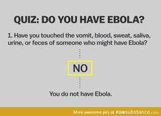 A helpful guide to diagnosing Ebola