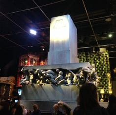 ministry of magic sculpture