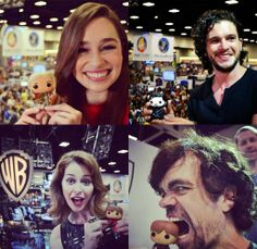 Comic-Con Game of Thrones with mini-me's