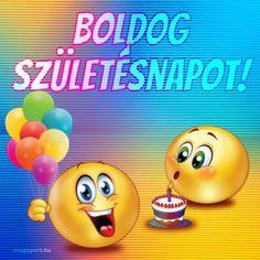 Share Pictures, Animated Gifs, Smiley, Birthdays, Happy Birthday, Scrapbook, Humor, Character, Anniversaries