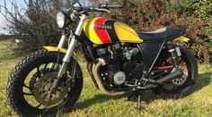 Yamaha XJ 550 scrambler