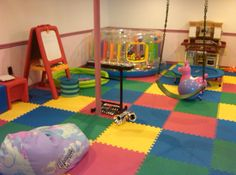 Sensory room on a budget- great ideas here
