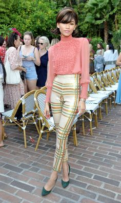 9 It Girl Outfits to Copy From the CFDA/Vogue Fashion Fund Show via @WhoWhatWear