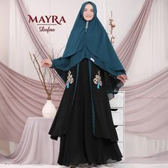 Defne Syari by Mayra Muslim Fashion, Hijab Fashion, Hijab Outfit, Instagram Posts, Outfits, Dresses, Temples, Vestidos, Suits