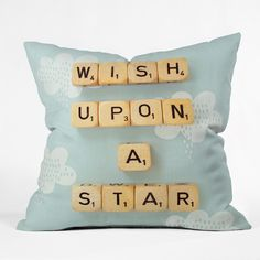 Happee Monkee Wish Upon A Star 2 Outdoor Throw Pillow | DENY Designs Home Accessories