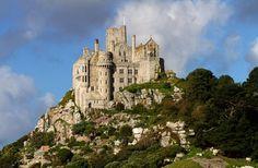ST MICHAEL'S MOUNT | Cornwall (pic. St Michael's Mount) ✫ღ⊰n