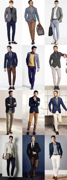 Men's Smart-Casual Outfit Inspiration - The Slim-Fit Chinos