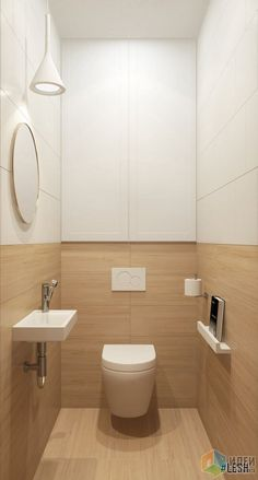 Space Saving Toilet Design for Small Bathroom In the event that you are one of the a huge number of individuals around the globe who needs to bear the claustrophobia of a little restroom, help is within reach. Washroom Design, Modern Bathroom Design, Bathroom Interior Design, Space Saving Toilet, Small Toilet Room, Small Toilet Design, Toilette Design, Toilet Closet, Bathroom Closet