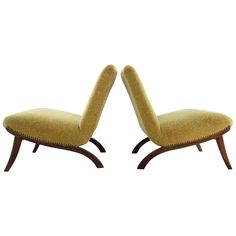 Two Easy Chairs Form Czechoslovakia Mid-Century Modern