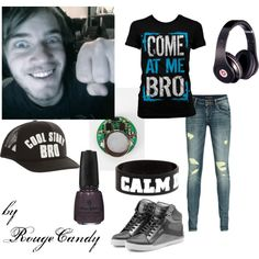 """""""Pewdiepie (Felix)"""" by rougecandy on Polyvore"""