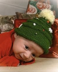Christmas Baby Hat