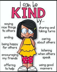 Social Skills 124271270954718201 - I can be kind poster. Social skills Source by autismgrownup Classroom Rules, Classroom Behavior, Classroom Management, Behavior Management, Classroom Expectations Poster, Anger Management Activities, Kids Behavior, Preschool Classroom, Relation D Aide