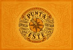 Branding and packaging for Punta Este, a new beer from Estrella de Levante by Tobias Hall