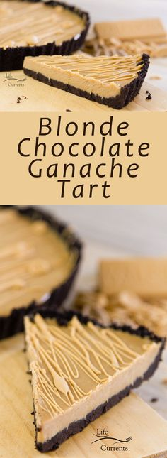 No-Bake Blonde Chocolate Ganache Tart is rich and creamy, elegant, and easy to make. No baking required.