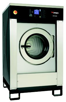 HF SERIES - High-spin, soft-mount for large laundry loads - 15kg-90kg capacity - Ideal for heavy items and towelling - Fully-programmable microprocessor - Meets Australian Standard AS4146-2000 for disinfection in laundry - User-friendly control panel  - Mounting base available to comply with health and safety requirements Laundry Equipment, Laundry Solutions, Washers, Control Panel, Health And Safety, Spin, Washing Machine, Industrial, Base