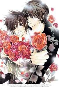 Ritsu Onodera and Masamune Takano from Sekai-ichi Hatsukoi. Oh, i love yaoi, this couple, this anime and Nakamura-sensei so much *-*