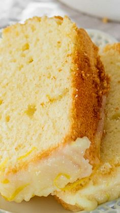 Lemon Chiffon Cake is very light and soft and it's topped with a delicious lemon glaze. From breakfast to dessert this chiffon cake will be a crowd pleaser!
