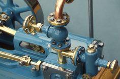 Steam Engine. Detail of inlet manifold by n.rat, via Flickr