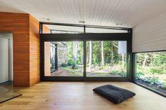 Projet Lac Mont-joie_bureau zen_crédit photo: Ulysse Lemerise B. Architecte: Dufour Ducharme architectes_ Designer: Paule Bourbonnais reference design