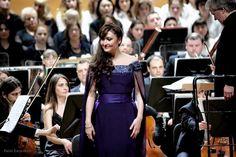 María José Montiel; Mahler's Symphony N. 3 with La VERDI in Milan - 2015 Mezzo Soprano, Maria Jose, Milan, Peplum Dress, Dresses, Fashion, Vestidos, Moda, Fashion Styles