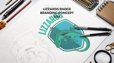 """art is not what you see, but what you make others see""...florinchitic.com/lizzards-badge… #logodesign #brand #drawing #concept #sports #sportbrand #marketing #lizzard #badge #green #nature #basketball #brandingpack #oficialbadge #art #logo #design #originalconcept"