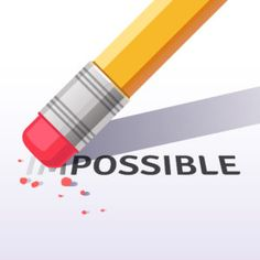Buy Changing Word Impossible to Possible with Eraser by IconicBestiary on GraphicRiver. Changing the word impossible to possible with a pencil eraser. Flat style vector illustration isolated on white backg. Galaxy Background, Pencil Eraser, Depression Treatment, Motivate Yourself, Illustration, Vector Free, How To Draw Hands, How Are You Feeling, Lettering