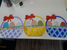 Košíky Veľkonočné vajíčka