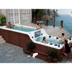 30 Jacuzzi 6 Seats And More Ideas Jacuzzi Seating Swim Spa